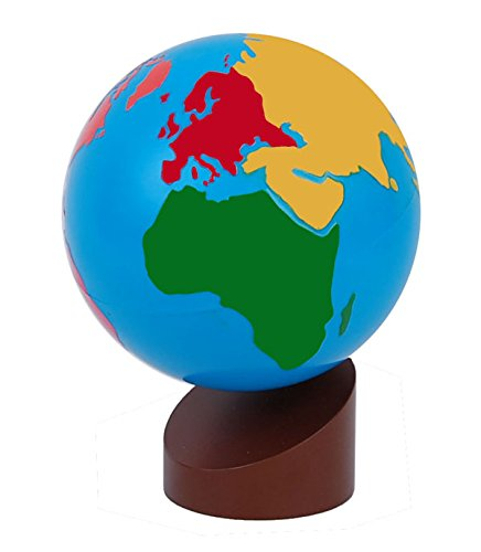- Montessori Globe - World Parts