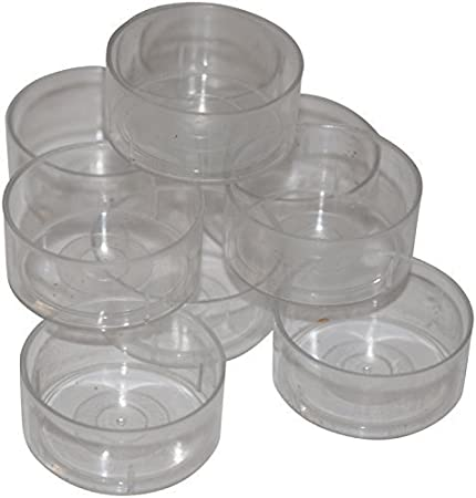 40 Tealight Candle Moulds Polycarbonate For making tealight candles