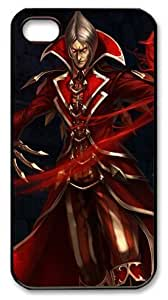 LZHCASE Personalized Protective Case for iphone 4 - vladimir league of legends