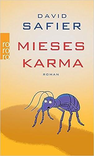 David Safier: Mieses Karma (Rowohlt)