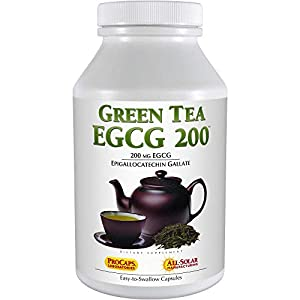 Gut Health Shop 41dz-kEwmUL._SS300_ Andrew Lessman Green Tea EGCG 200 - 180 Capsules – 200 mg EGCG, Powerful Anti-oxidant Support for Healthy Liver Function…