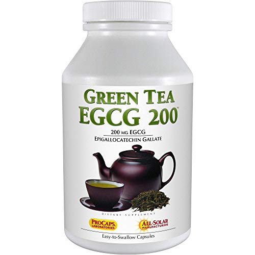 Andrew Lessman Green Tea EGCG 200 – 60 Capsules – 200 mg EGCG, Powerful Anti-oxidant Support for Healthy Liver Function…