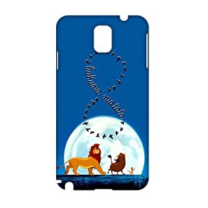 Angl 3D Cartoon Lion King Hakuna Matata Phone For HTC One M7 Case Cover