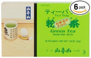 Green Tea, Sushi Bar Style - And Sushi Tea