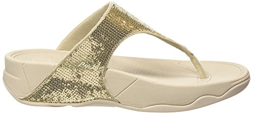 Donna Classic Infradito 308 gold Fitflop Electra Gold Tm pale Oro wqEwgFI