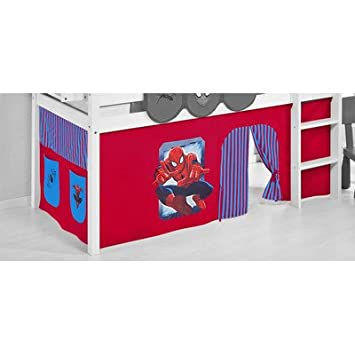 Spiderman For Mid Sleeper Cabin Bed Bunk Bed Amazon Co Uk