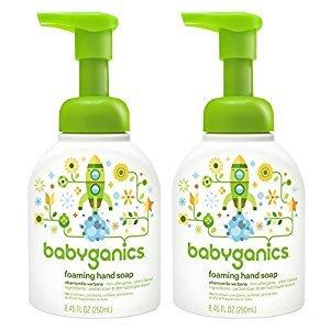 Babyganics Foam Hand Soap Chamomile Verbena 8.45