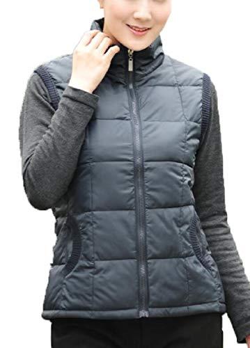 security Womens Lightweight Waterproof Packable Down Outwear Puffer Down Jacket Black