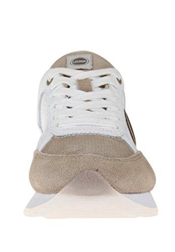 Colmar Damen Sneaker Travis Primo Logo Beige / Bianco