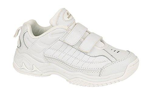 Mirak , Baskets mode pour homme Blanc blanc 40.5 (7 UK)