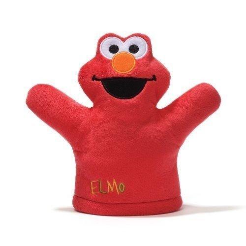 Gund Sesame Street Elmo Mini Puppet Plush ()