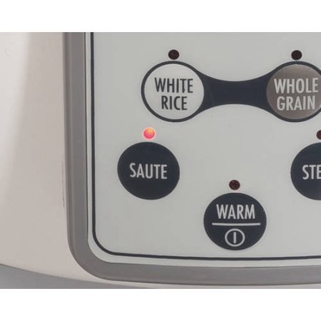 37547 16-Cup Digital Rice Cooker, White