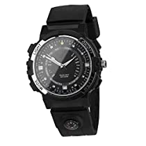 Dovewill Smart Watch Wifi Remote Control 720P Camera Wristband Y30 Night Vision Round Touch Screen Water Resistant with Video Voice Recording Compass LED
