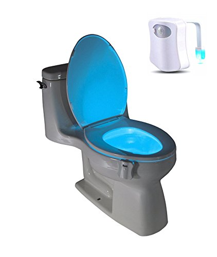 Toilet Light Angeer Sensor Motion Activated Led Energy Efficient Portable Bathroom Color Changing Nightlight