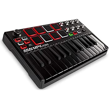 akai professional mpk mini mkii le black black limited edition 25 key portable. Black Bedroom Furniture Sets. Home Design Ideas