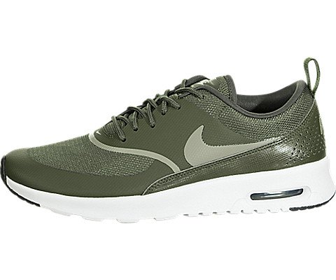 buy sale official store preview of NIKE Women's Air Max Thea Trainers, Green (Cargo Khaki/Dark Stucco-Black  310), 4 UK 37.5 EU