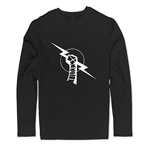 Cm Punk Fits Perfect Crew Long Sleeve Tees Man Fit Great