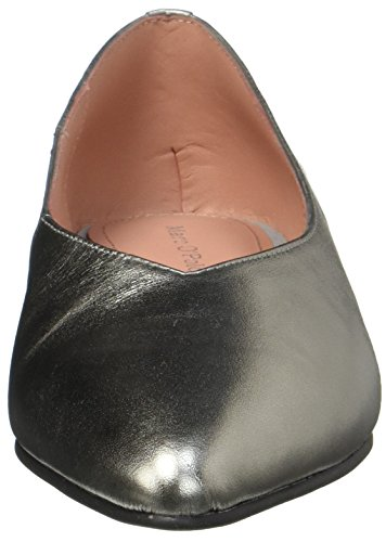 Marc O'polo Dame Ballerina 70714003001102 Lukket Flad Sølv (messing) o2kDAr