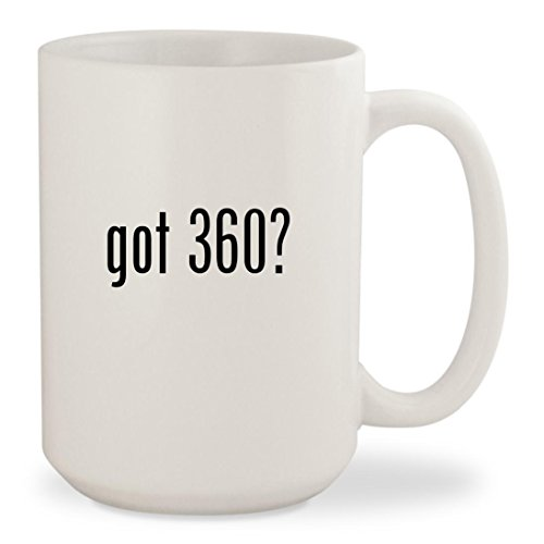 got 360? - White 15oz Ceramic Coffee Mug Cup