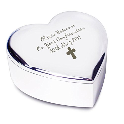 First easter gifts amazon personalised cross heart trinket an excellent gift for girls easter 1st birthday negle Choice Image