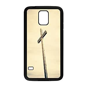 Cross High Qulity Customized Cell Phone Case for SamSung Galaxy S5 I9600, Cross Galaxy S5 I9600 Cover Case