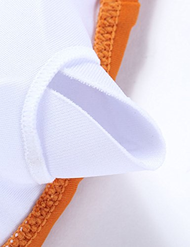 Costumi Bikini Set Up Mare Pezzi Push Costume Bende Donna FeelinGirl Beachwear Bikini Sexy da Bagno Due Imbottito arancione ARwR6