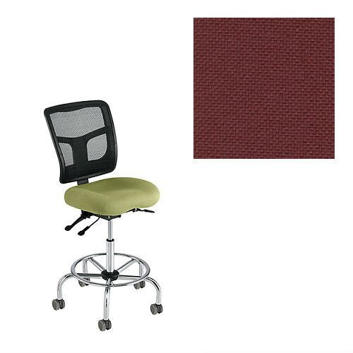 Office Master YS73-1013 Yes Series Mesh Back Multi Adjustable Ergonomic Office Chair - Grade 1 Fabric - Basic Burgundy (Chair Task Multi Burgundy)