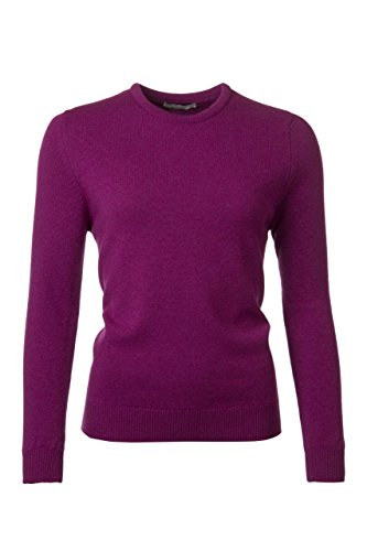 Great and British Knitwear Ladies' 100% Lambswool Plain Round Neck (Plain Lambswool)