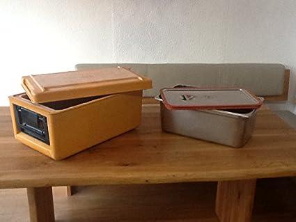 Rieber térmica port Juego de 2 caja de transporte para alimentos: Amazon.es: Industria, empresas y ciencia