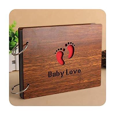 foosheeonzi 20 Style Creative Souvenir DIY Handmade Loose Leaf Album Vintage Photo Album Wedding Photo Albums Lover Baby Scrapbooking Craft