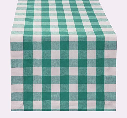 - Buffalo Check Table Runner 16x108 inch in Cotton 2