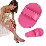 ❤JPJ(TM)❤️_Hot sale 12pcs Unisex Smooth Legs Smooth Hair Rmoval Away Unwanted Hair Cheap Epilator (Pink)
