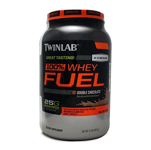 TwinLab Suplemento alimenticio polvo para preparar bebida con protena sabor chocolate, 907 g