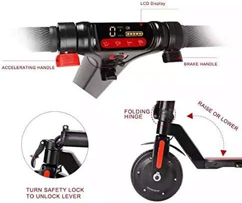 GÜMÜ Y8 - Trottinette électrique, Electric Scooter Batterie 7.5Ah Longue portée de 30km, Moteur 350W Vitesse Max 30km/h,8 Pouces Patinette Pliable avec 3 Modes De Conduite, Affichage à LCD