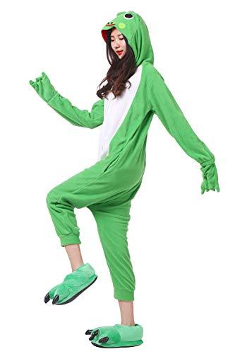 Intero Rana Unisex Costume Cosplay Onesies Pigiama Animali q5O4x8w