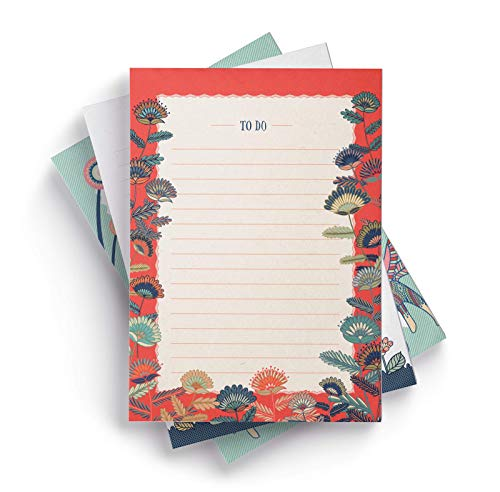 - Ceibo Press to Do List Notepads (Set of 3) by Laura Varsky