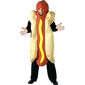 Wicked Costumes - Disfraz de perrito caliente para adulto (talla única)