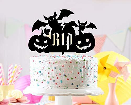 halloween signs, unique cake topper, halloween zombie, Halloween cake topper, funny cake topper, halloween ideas, halloween party idea, -