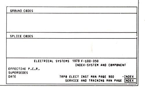 Amazon.com: bishko automotive literature 1978 Ford F-100 F ... on