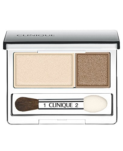 Eyes Shadow Duo - Clinique All About Shadow Duo, shade=Ivory Bisque/Bronze Satin