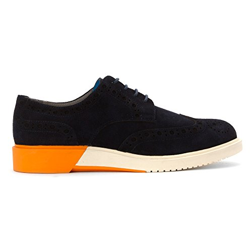 Anthony Miles Mens Brooke Fashion Sneakers Blue Suede
