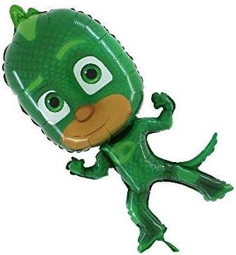 Grabo - Balón de aluminio Supershape de 79 cm - PJ Mask Gekko sin embalar, verde, L175