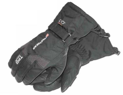 - Firstgear TPG Tundra Men's Motorcycle Gloves (Black, X-Small)