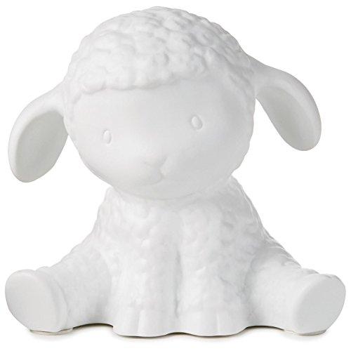 Porcelain Lamb Night Light Decorative Accessories