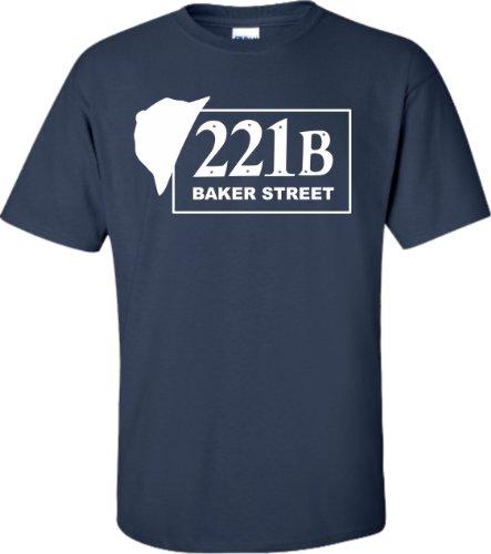 Sherlock Holmes 221B Baker Street T-Shirt