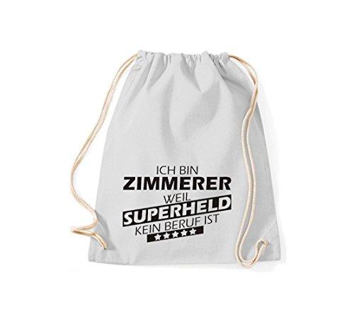 Sin Ist Zimmerer De Estoy Gris Shirtstown Trabajo Superheld Bolsa Weil Claro Gimnasio 4wqF0