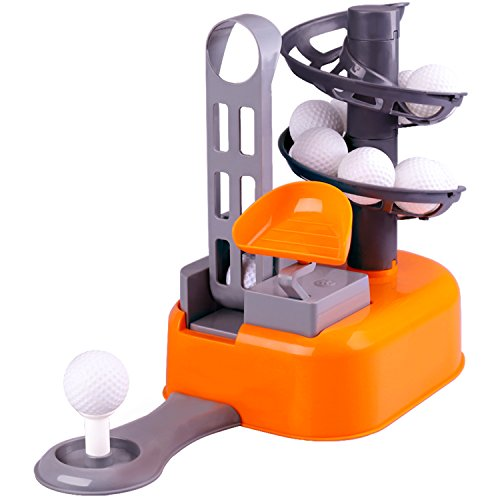 Cheap Toy Golf iplay ilearn golf toys set golf ball game sports gaming clubs learning
