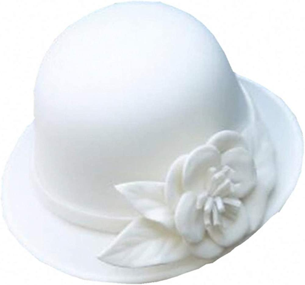 Gatsby Cloche Hat Flower...