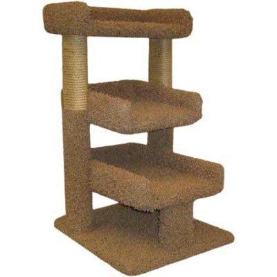 Triple Cat Perch Color: Beige, My Pet Supplies