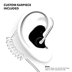Decibullz top rated DIY thermo-fit earpieces combine with Clear tube radio adapters to create a perfect fitting two-way radio earpiece that will stay in place no matter what you are doing. Using a patented thermoplastic, the fitting process i...